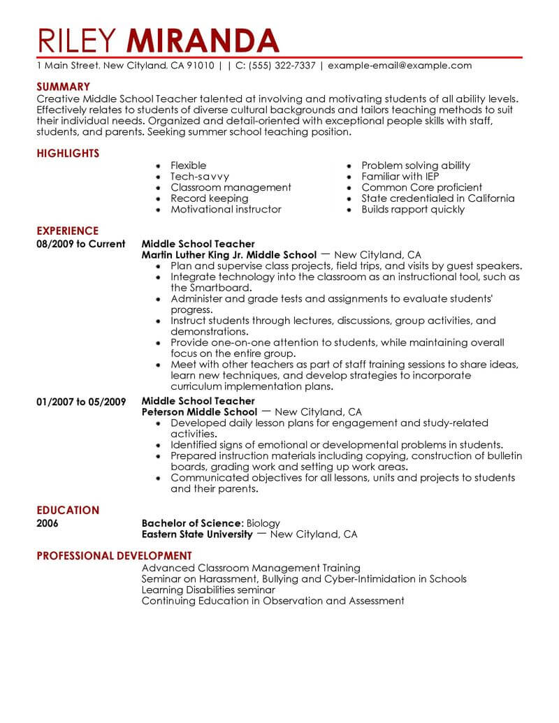 Best resume writing services 2014 teachers