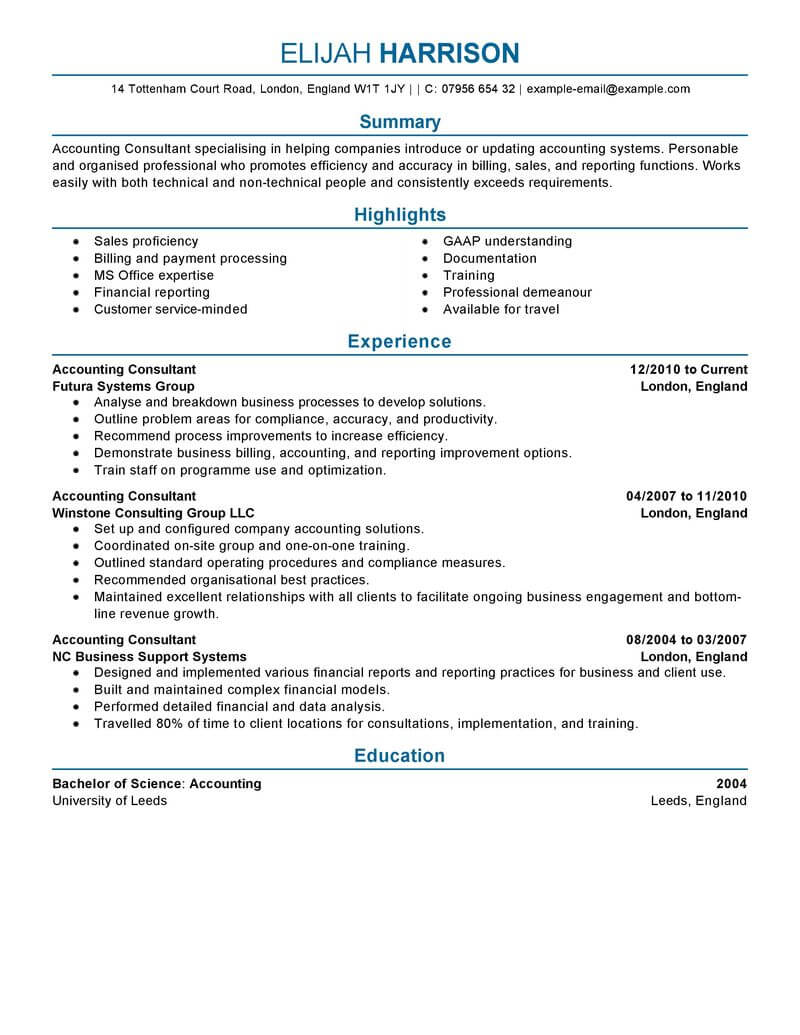 74 amazing finance resume examples  u0026 templates from trust