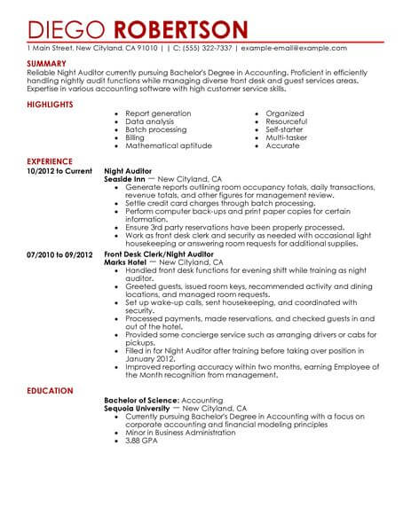 70 amazing hotel  u0026 hospitality resume examples  u0026 templates from trust writing service
