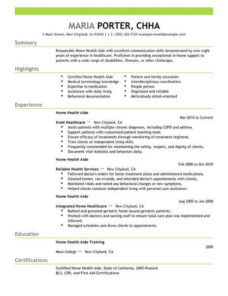 home health aide job description sample april onthemarch co