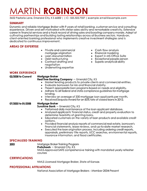 best real estate agent resume example from professional resume writing service
